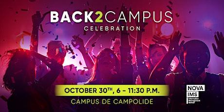 Back to Campus Celebration bilhetes