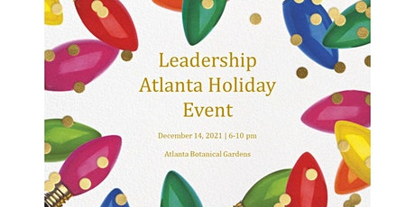 Leadership Atlanta Alumni Holiday Social- Out of Territory Contributors tickets