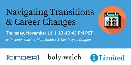 Navigating Transitions and Career Changes tickets
