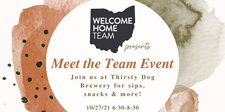 Welcome Home Meet the Team Event! tickets