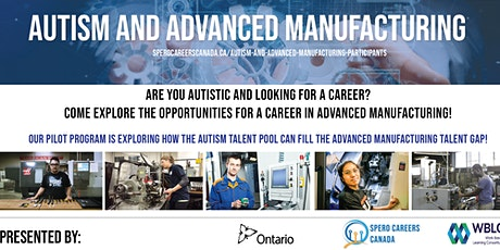 Autism and Advanced Manufacturing Pilot Program - Online Info Session tickets