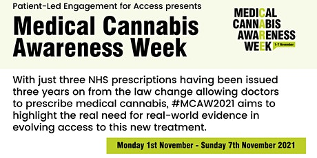 PLEA presents: Medical Cannabis Awareness Week 2021 tickets