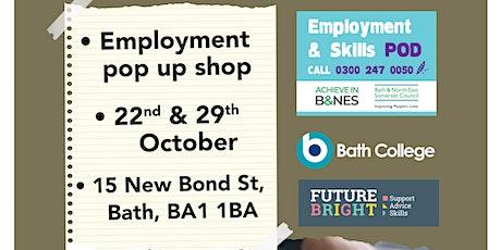 Employment Pop Up Shop tickets