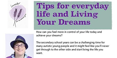 Tips for everyday life and Living your Dreams with Robyn Steward tickets