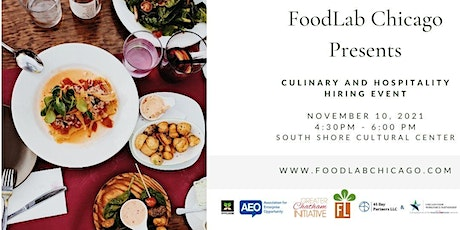 FoodLab Chicago Culinary and Hospitality Hiring Fair tickets