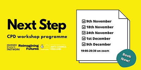 Next Step - A programme of CPD workshops & talks tickets