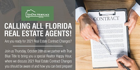 Recent Changes in FL Real Estate Contract - Hosted by The Bradshaw Team tickets