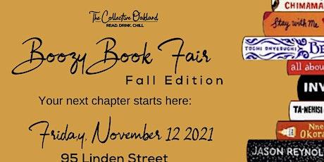 Boozy Book Fair - Fall Edition tickets