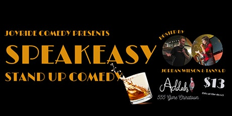 Speakeasy Stand Up Comedy tickets