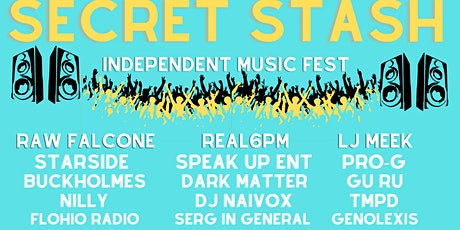 Secret Stash Independent Music Fest 2021 tickets