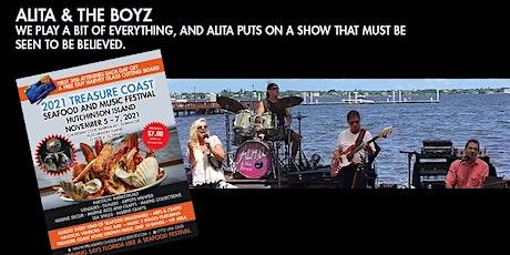 Alita and the Boyz Treasure Coast Seafood and Music Festival tickets