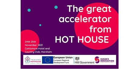 The Great Accelerator from the Business Hot House tickets