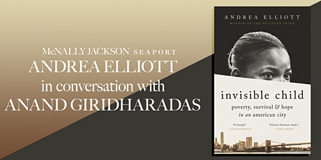 Andrea Elliott in conversation with Anand Giridharadas tickets