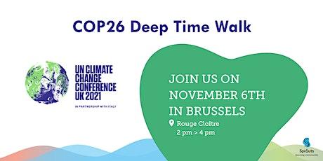 Deep Time Walk COP26 2pm tickets