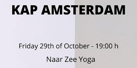 KAP-  Open class Amsterdam 3 facilitators tickets