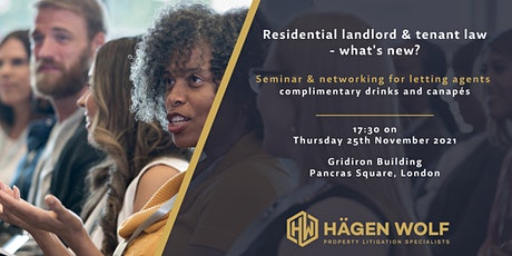 Residential landlord & tenant law - what's new? tickets