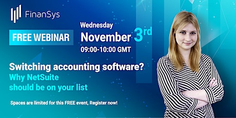 Switching accounting software? Why NetSuite should be on your list tickets