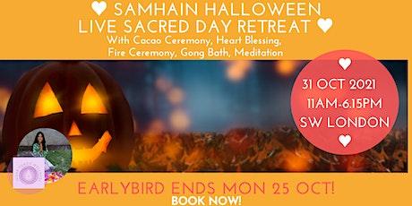 Samhain (Halloween) Sacred Day Retreat Live tickets