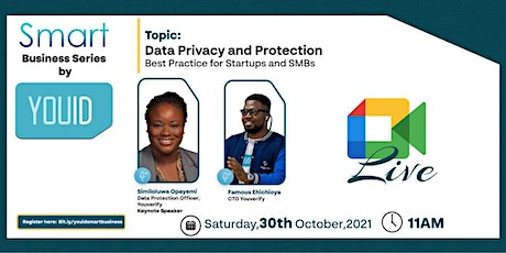 Smart Business Series  2 - Data Privacy and Protection tickets