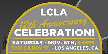 LCLA 12th Anniversary Celebration tickets