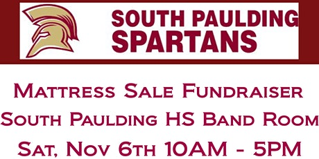 South Paulding HS Band - Mattress Fundraiser Event tickets