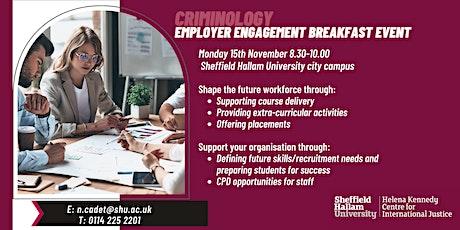 Employer Engagement Breakfast Event - SHU Criminology tickets