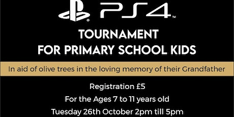 Ps4 Tournament for Primary School Kids tickets