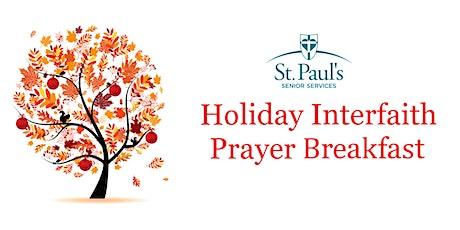 St. Paul's  Senior Services Holiday  Interfaith Prayer Breakfast tickets