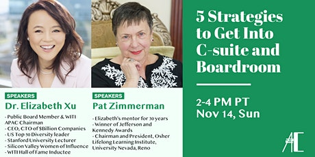 Five Strategies to Get  Into C-suites and Boardrooms tickets