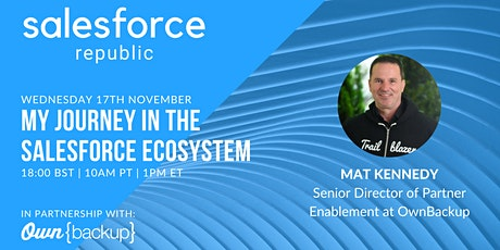 Salesforce Republic: My Journey in the Salesforce Ecosystem tickets