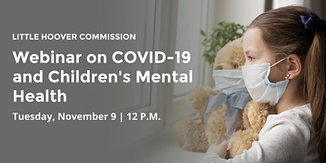 Webinar on COVID-19 and Children's Mental Health tickets