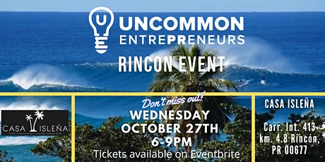 October Rincon Uncommon EntrePReneurs Networking Event tickets