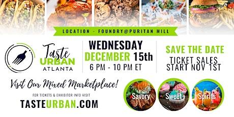 Taste Urban Atlanta: Holiday Edition tickets