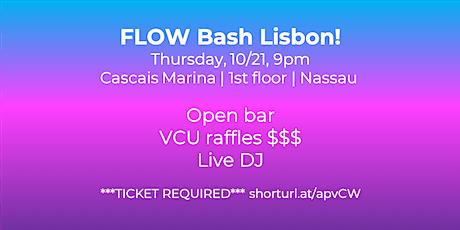 FLOW Bash Lisbon bilhetes