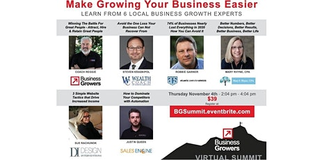 2021 Business Growers Virtual Summit tickets