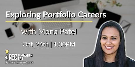 Exploring Portfolio Careers with Mona Patel tickets