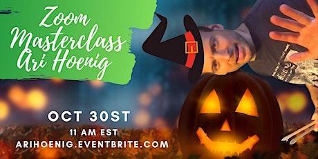 Zoom Masterclass with Ari Hoenig - October 30th tickets