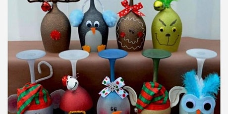 Christmas Wine Glass Painting tickets