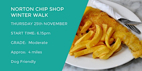 NORTON FISH AND CHIP SHOP WALK | 4 MILES | MODERATE | NORTHANTS tickets