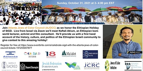 Celebrate Sigd with the Atlanta Jews of Color Council tickets