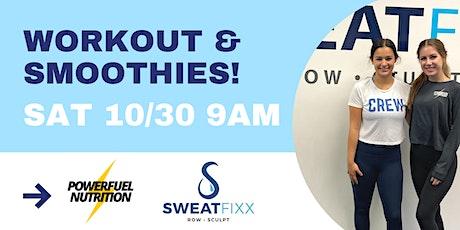Sculpt & Sip with Sweat Fixx & Powerfuel tickets