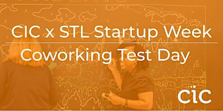 CIC Coworking Test Day @ 4220 Duncan - STL Startup Week tickets