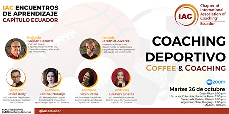 Coaching Deportivo - COFFEE & COACHING OCTUBRE 2021 entradas