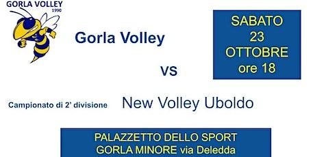 2' divisioneGorla Volley - New Volley Uboldo biglietti