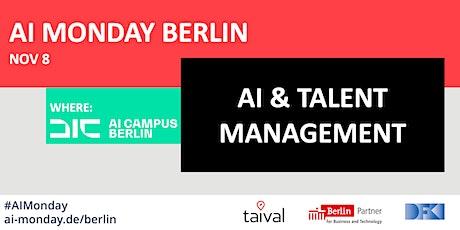 AI MONDAY BERLIN - AI & TALENT MANAGEMENT Tickets