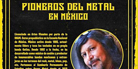 Pioneros del Metal en México boletos