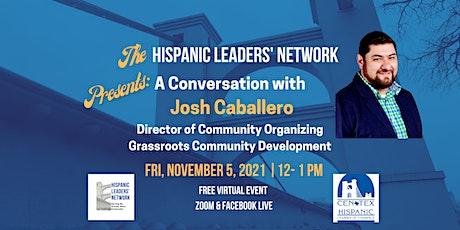 HLN November Luncheon: Conversation with Josh Caballero tickets