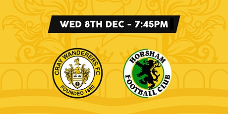 Cray Wanderers VS Horsham tickets