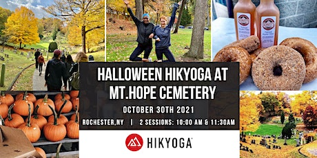 Halloween Hikyoga® at Mount Hope Cemetery tickets