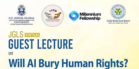 Will AI Bury Human Rights? - Rowena Rodrigues tickets